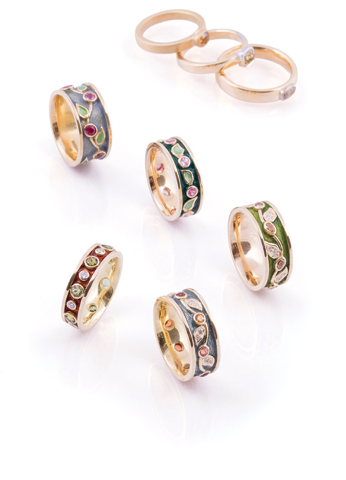 A selection of rings